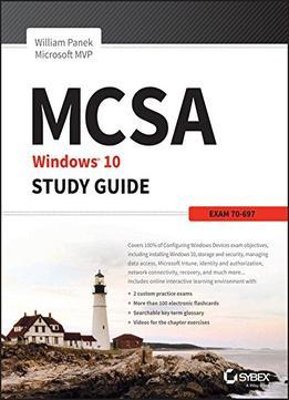 mcsa windows 10 study guide exam 70 698