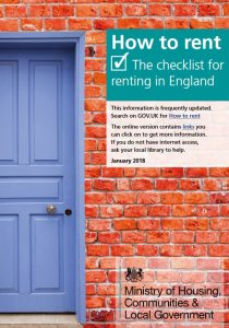 renting a home a guide for tenants booklet