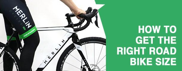 road bike frame size guide