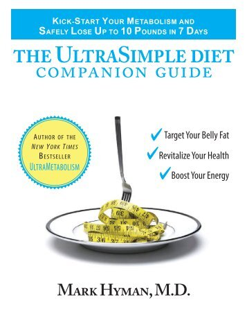 the ultrasimple diet companion guide